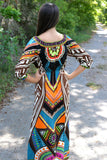 Tribal Seasons Maxi Dress