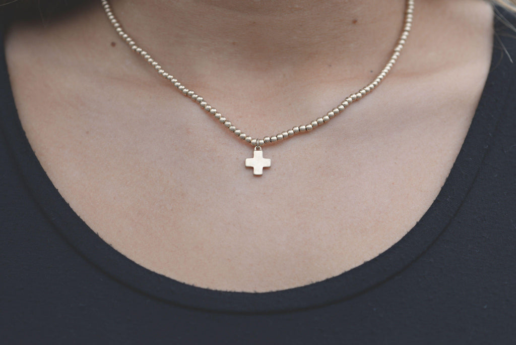 Wondrous Love Cross Necklace