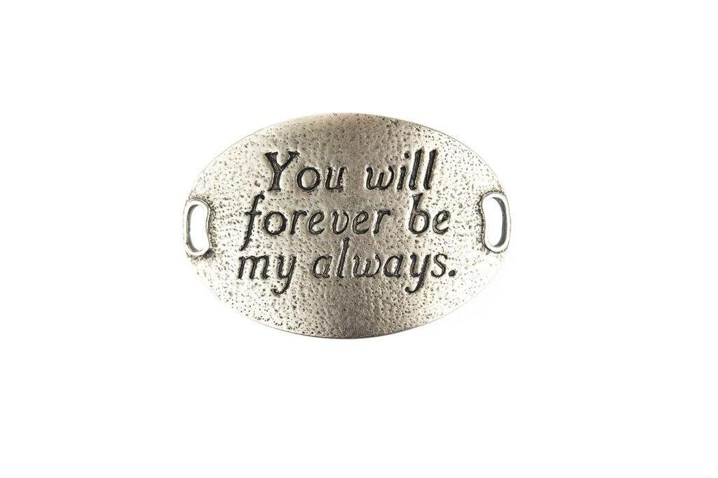 """You will forever be my always"" Lenny and Eva Trousseau Sentiment"