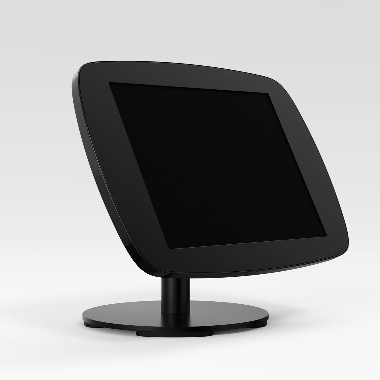 Bouncepad Counter 60 - A secure tablet & iPad tablet stand in black.