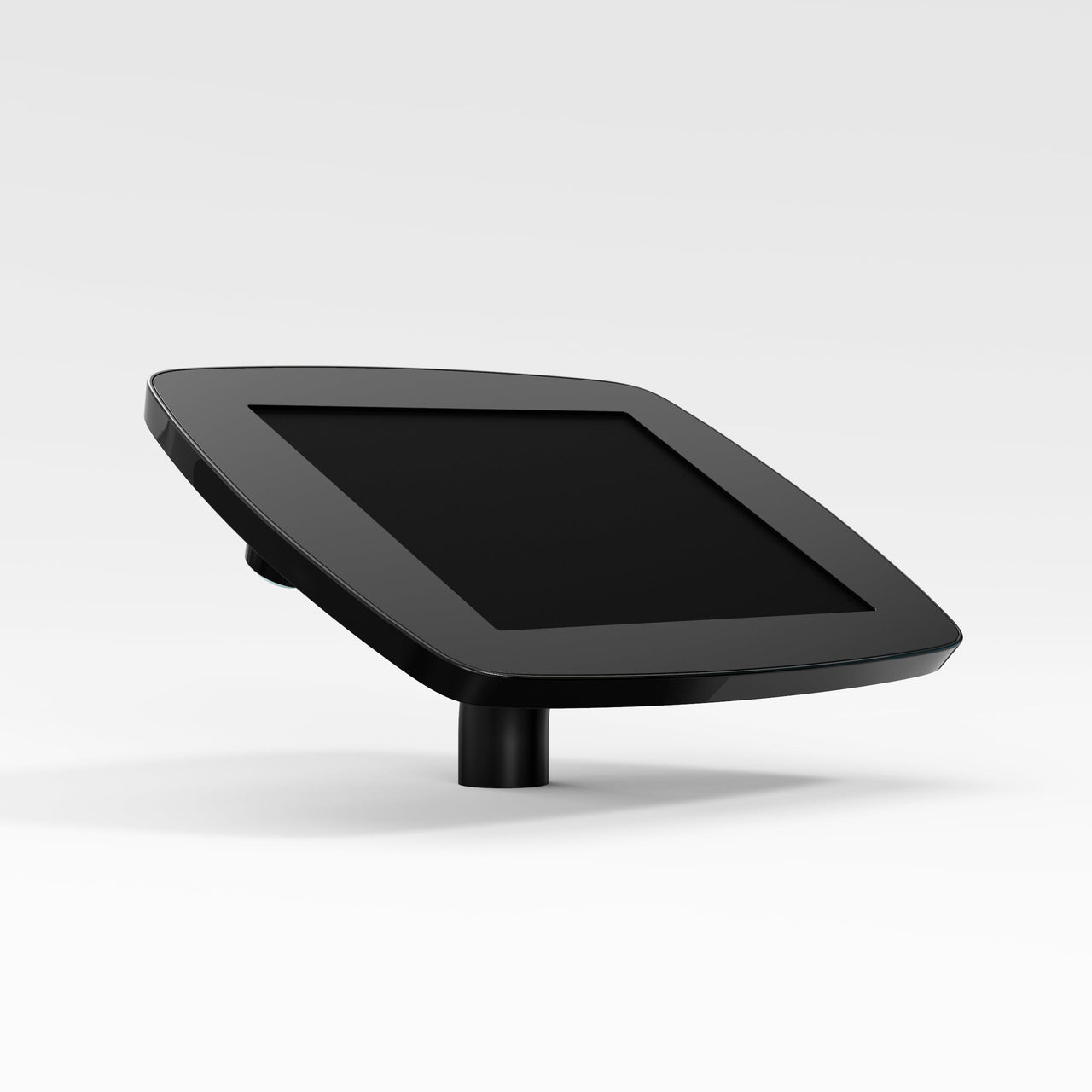 Bouncepad Desk - A secure tablet & iPad desk mount in black.