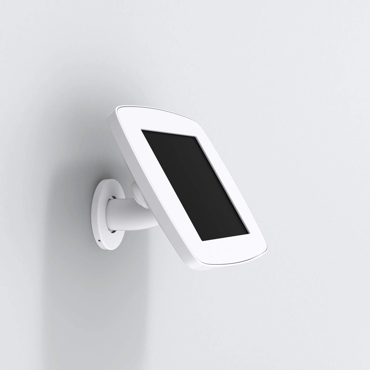 Bouncepad Wallount - A secure tablet & iPad wall mount in white.
