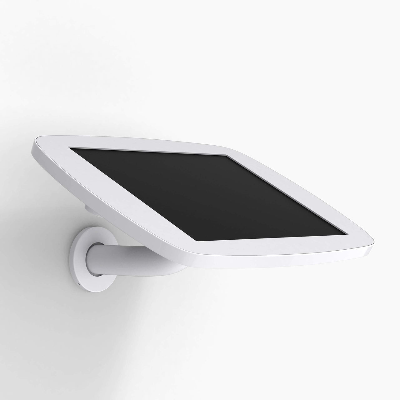 Bouncepad Wallmount - A secure tablet & iPad wall mount in White.