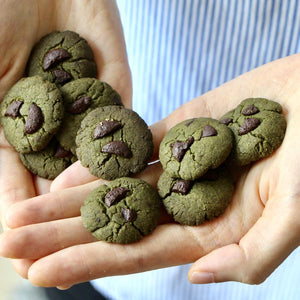 *SEASONAL* Matcha x Black Sesame & Dark Choc Bliss Cookies - Bundle of 2 (V, RSF)