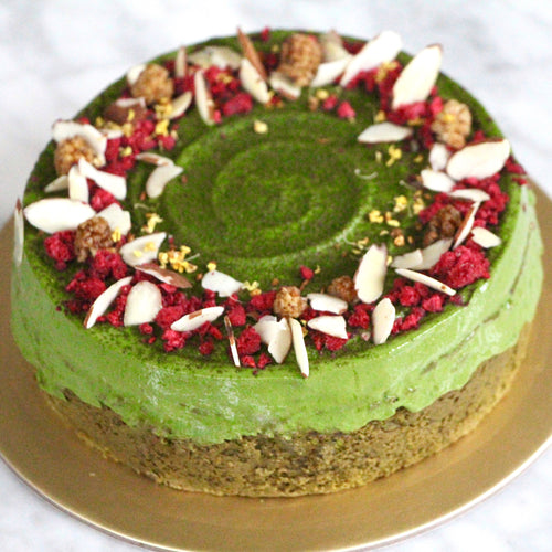 *EXCLUSIVE* Double Matcha Fudge Cake 2.0 (GF, V, RSF)