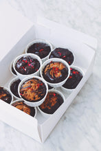 Load image into Gallery viewer, Assorted Signature Mochi Muffin Box (GF, Vegan, Refined Sugar Free)