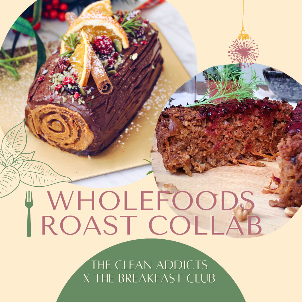 20/12 PREORDER - CLEAN Vegan Roast Collab Bundle (GF, Vegan, Refined Sugar Free)