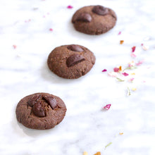 Load image into Gallery viewer, Earl Grey x 74% Dark Chocolate Bliss Cookies (V, RSF)