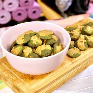 Matcha x Peanut Butter Bliss Cookies (V, RSF)
