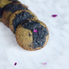 Load image into Gallery viewer, *SEASONAL* Matcha x Black Sesame & Dark Choc Bliss Cookies - Bundle of 2 (V, RSF)