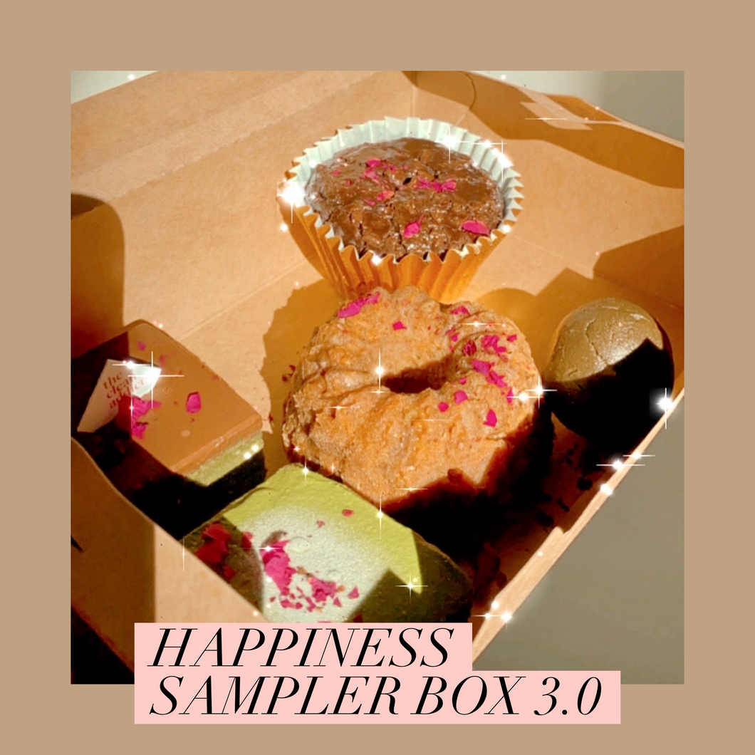 *EXCLUSIVE* Happiness Box 3.0 (Vegan, Refined Sugar Free)