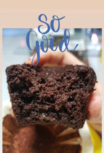 Load image into Gallery viewer, Double Chocolate Mochi Muffins (GF, Vegan, RSF)