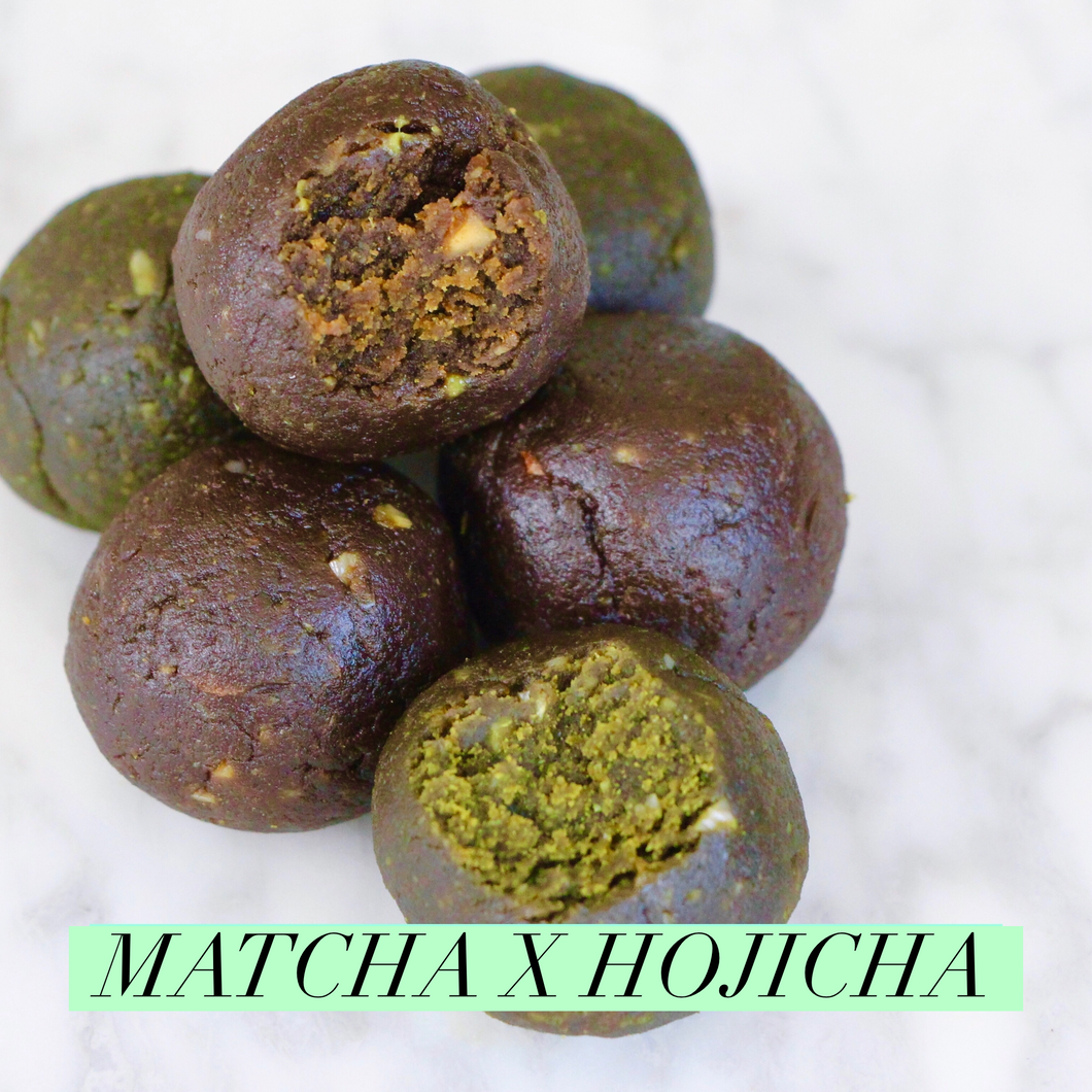 Hoji-Matcha CLEAN Protein Balls - Box of 10 (GF, Vegan, F45 Approved)