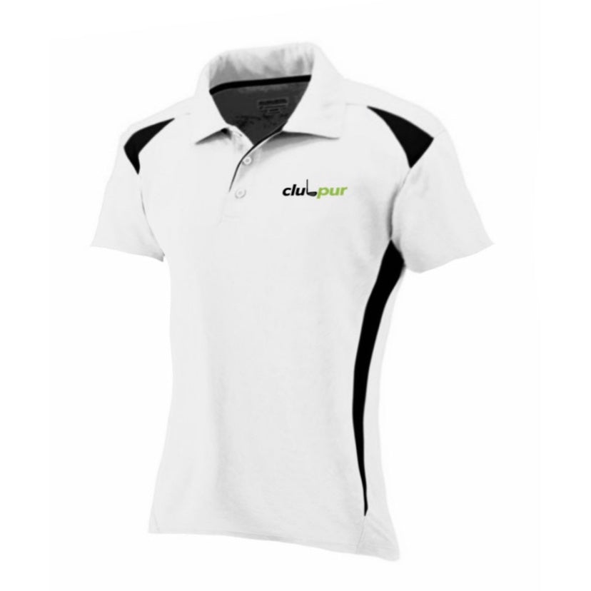 Lady's Two-Tone Golf Polo Shirt