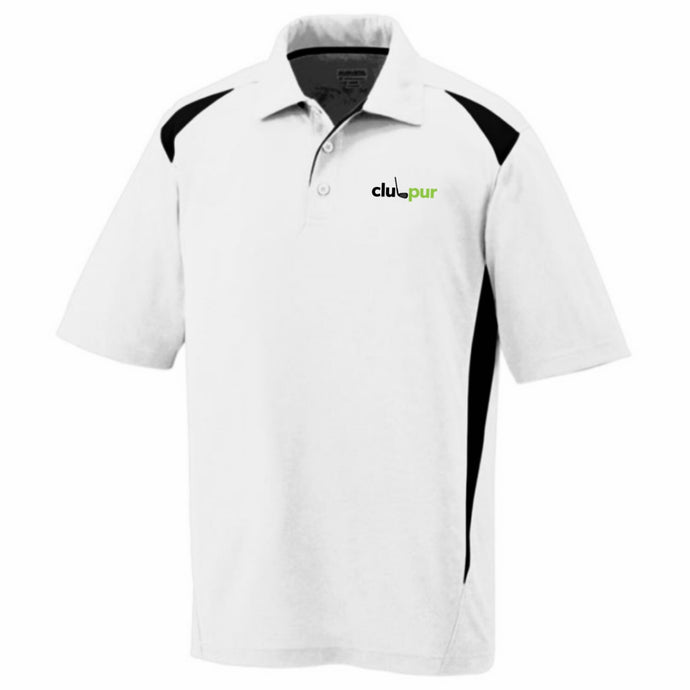 Men's Two-Tone Golf Polo Shirt