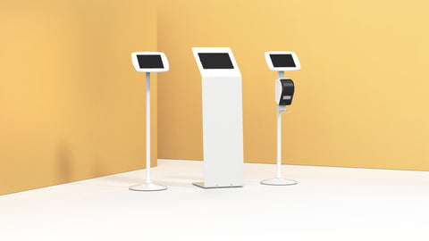 Secure Tablet & iPad Floor Stands & Kiosks