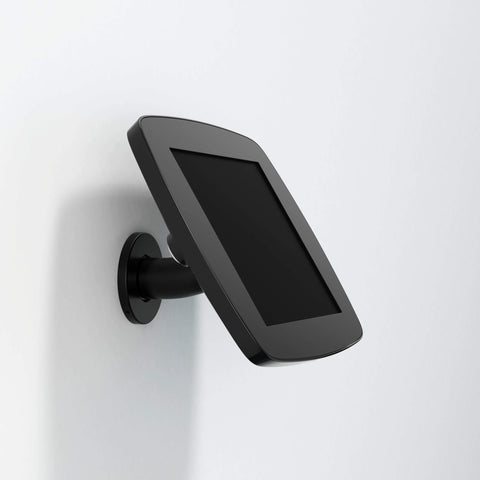 Bouncepad Wallount - A secure tablet & iPad wall mount in black.