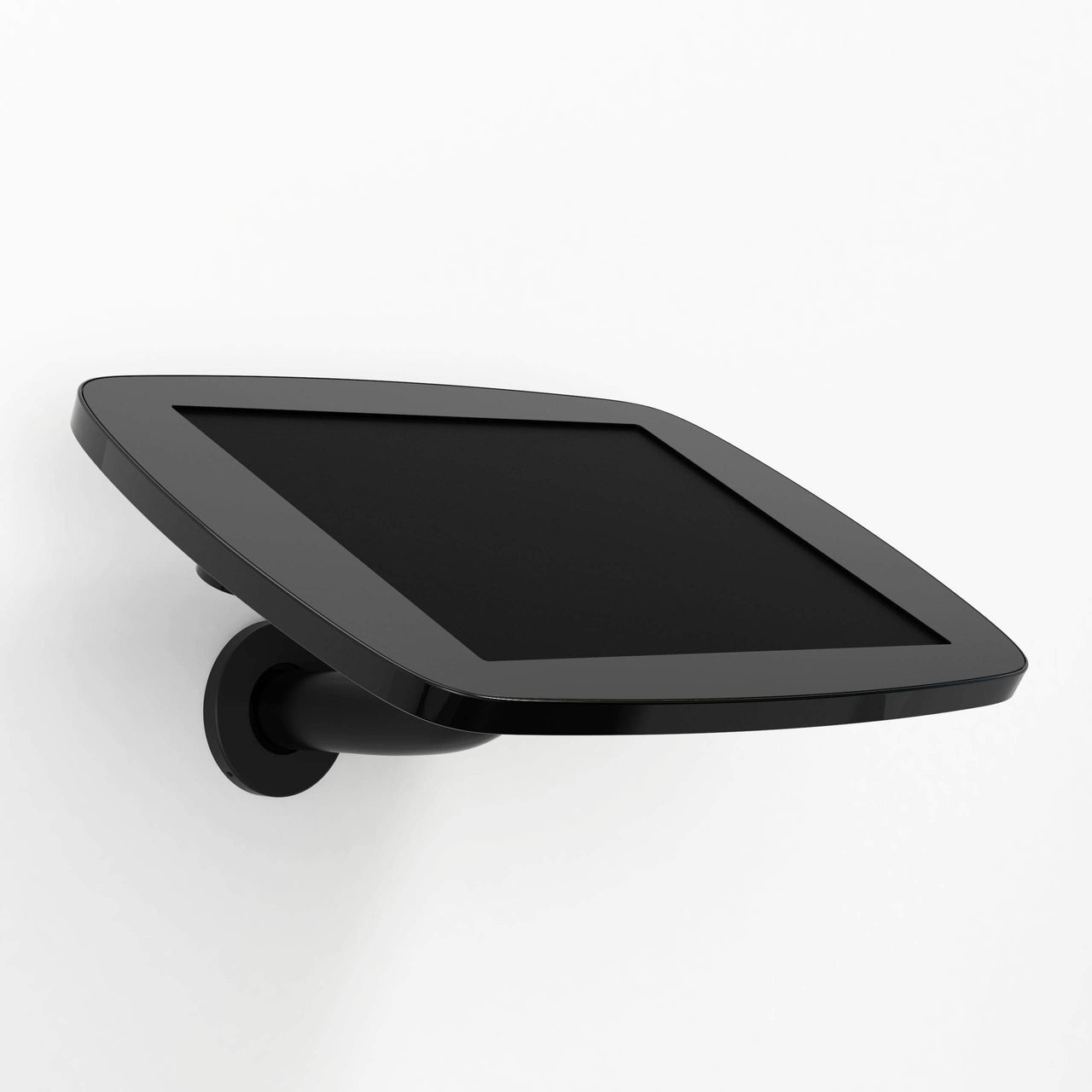 Bouncepad Branch - A secure tablet & iPad wall mount in Black.