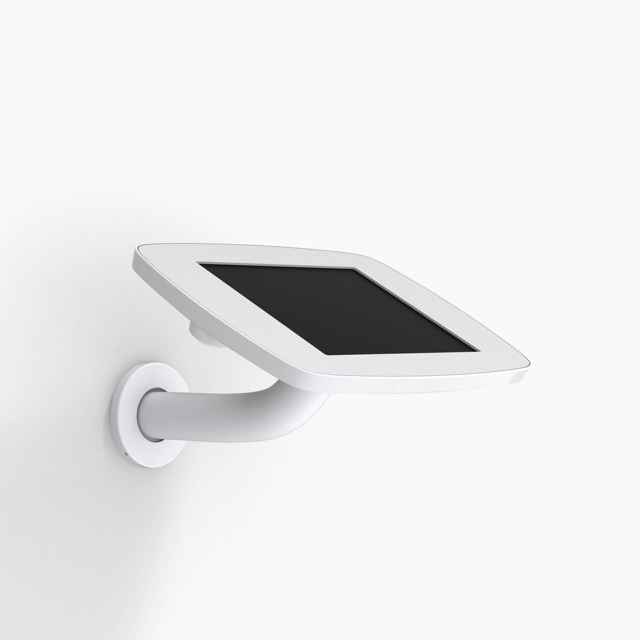 Bouncepad Branch - A secure tablet & iPad wall mount in White.