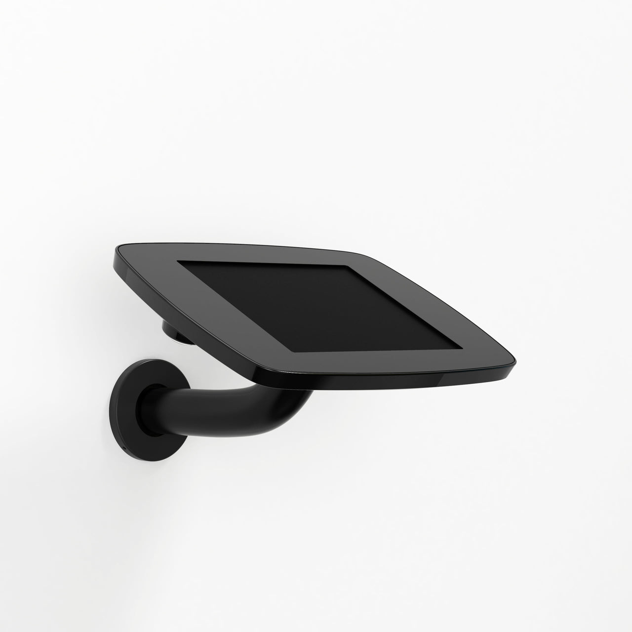 Bouncepad Wallmount - A secure tablet & iPad wall mount in Black.