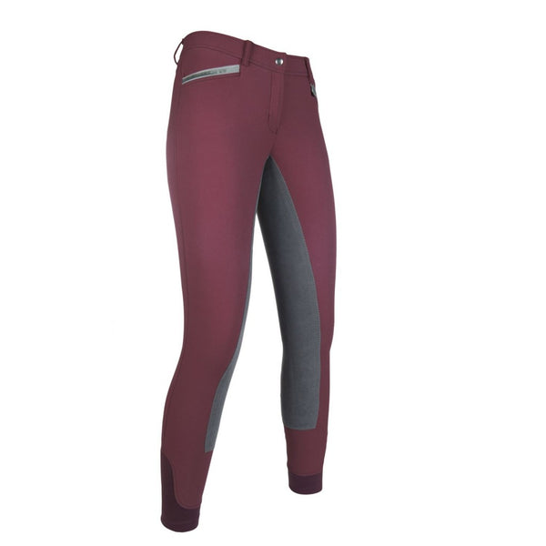 HKM Women's Riding Breeches -Velluto EVA- 3/4 Alos seat Art. No.: 11290