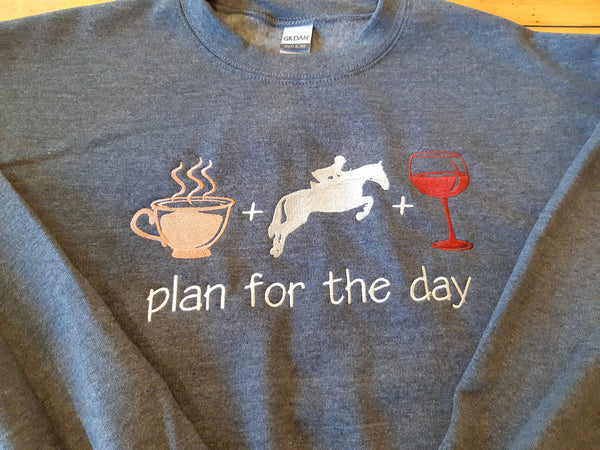 Plan For The Day-Gildan Heavy Blend Hooded Sweatshirts-1850