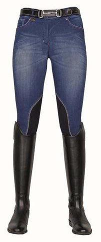 Jodhpurs -Summer Denim- with Alos knee edging 3070 *Reg. 119.95