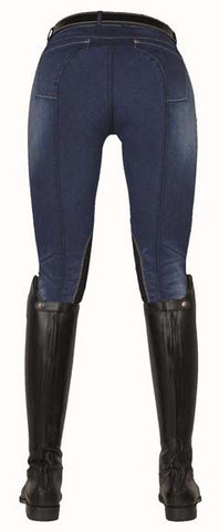 Jodhpurs -Summer Denim- with Alos knee edging