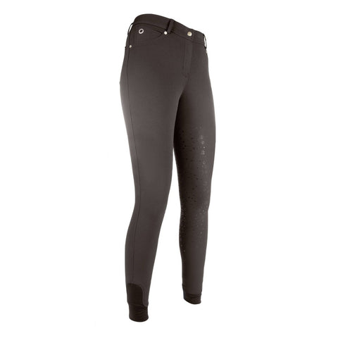 Riding breeches -LG Basic- silicone full seat 9248