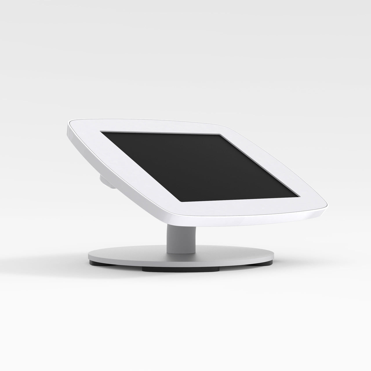 Bouncepad Counter - A secure tablet & iPad tablet stand in White.