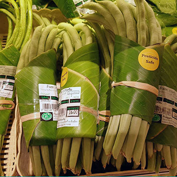 Thai Grocer Banana Leaf Veggie Wrap - Courtesy Perfect Homes Chiangmai