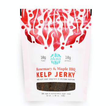 Akua Kelp Jerky - Rosemary & Maple Barbecue
