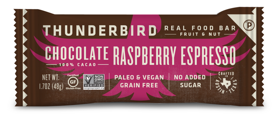 Thunderbird Bar - Chocolate Raspberry Espresso