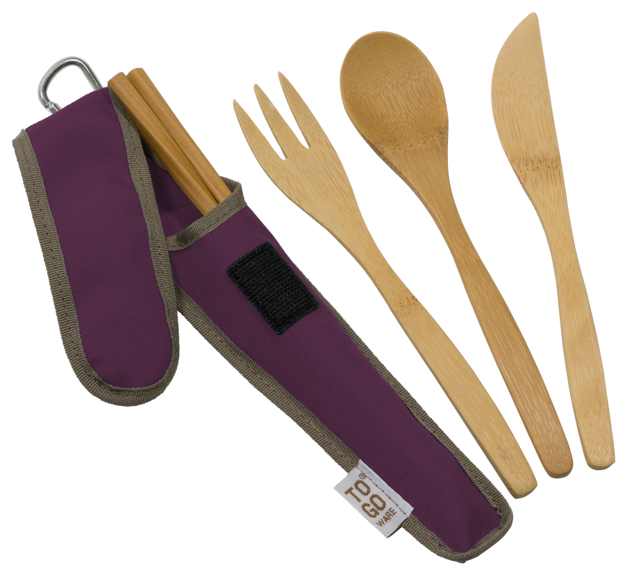 To-Go Ware RePEaT Utensil Set - Mulberry