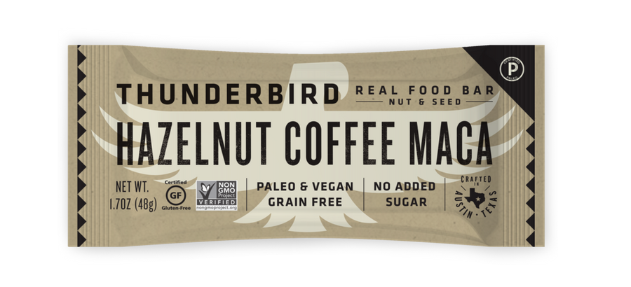 Thunderbird Bar - Hazelnut Coffee Maca