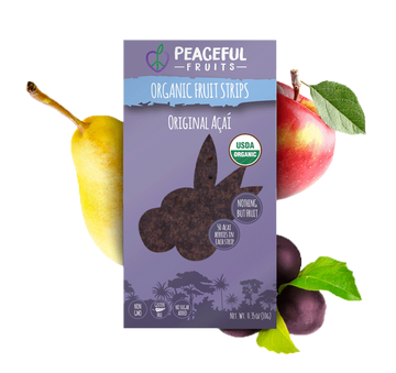 Peaceful Fruits Organic Fruit Strips - Original Acai
