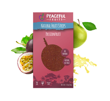 Peaceful Fruits Organic Fruit Strips - Passionfruit