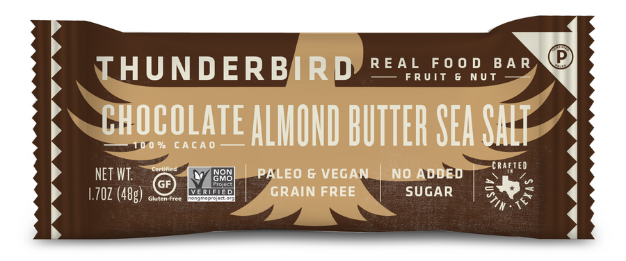 Thunderbird Bar - Chocolate Almond Butter Sea Salt