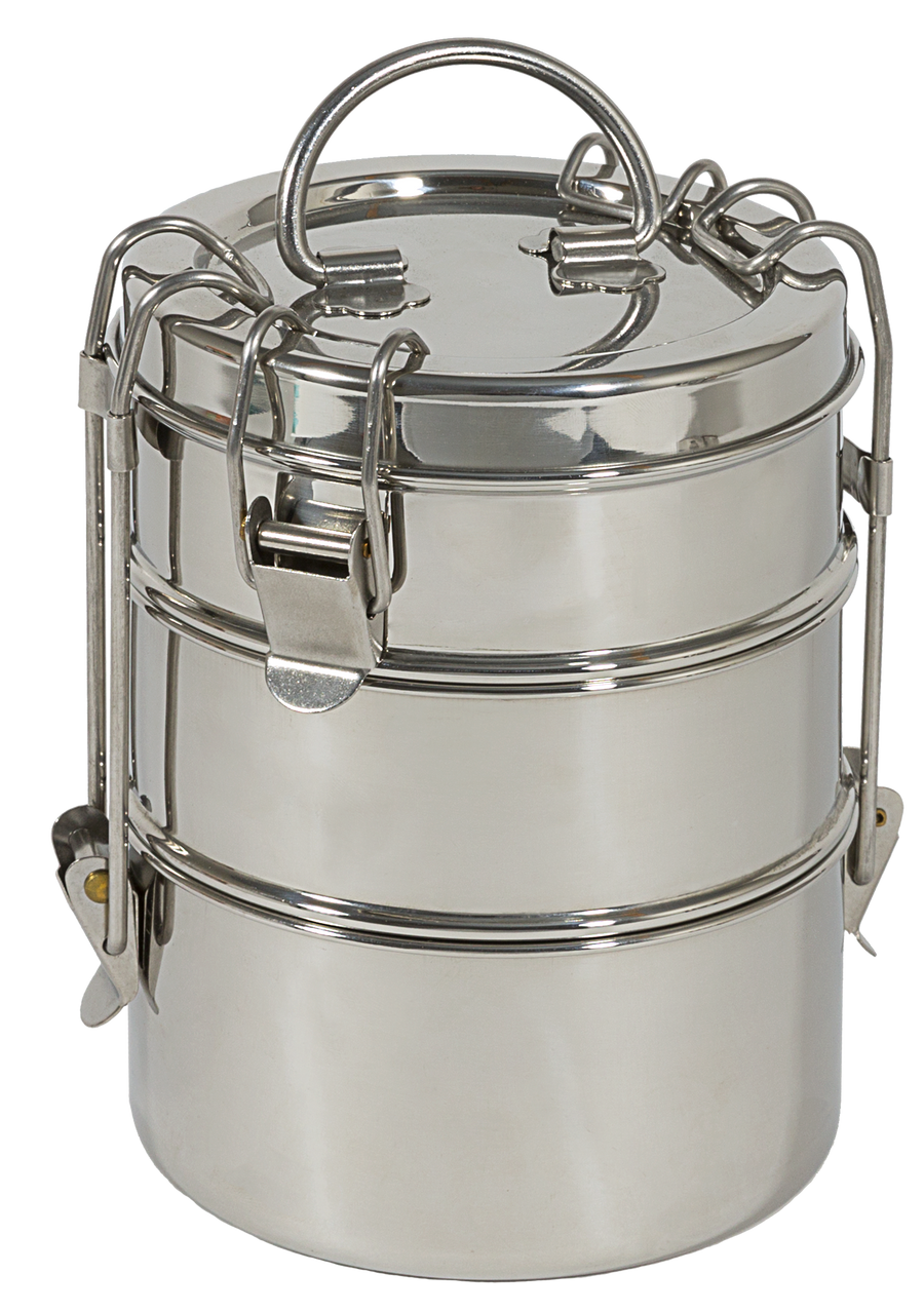 To-Go Ware 3-Tier Stainless Steel Food Carrier