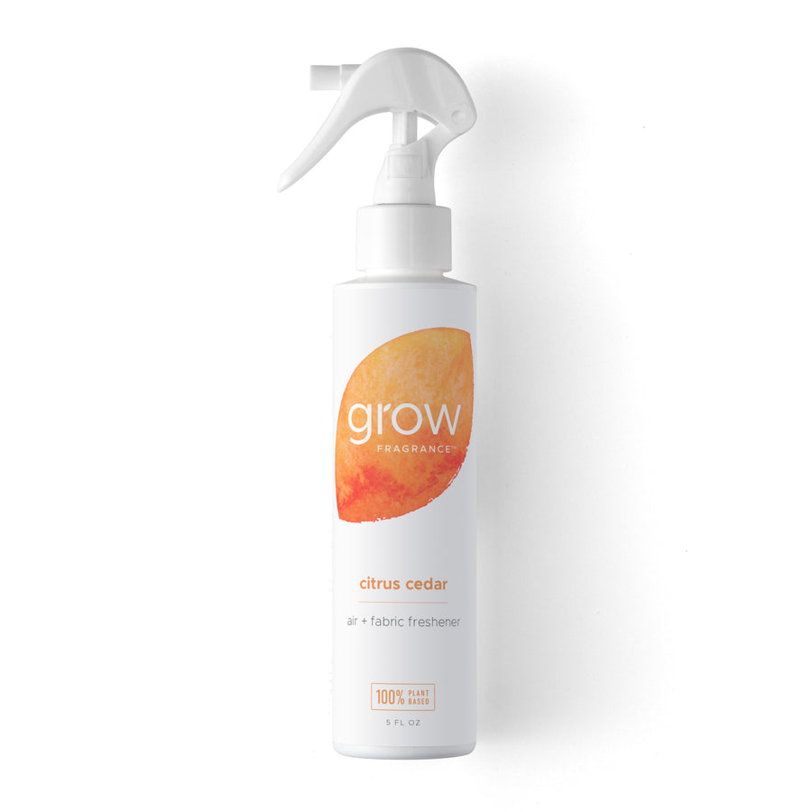 Grow Fragrance Citrus Cedar Air & Fabric Freshener