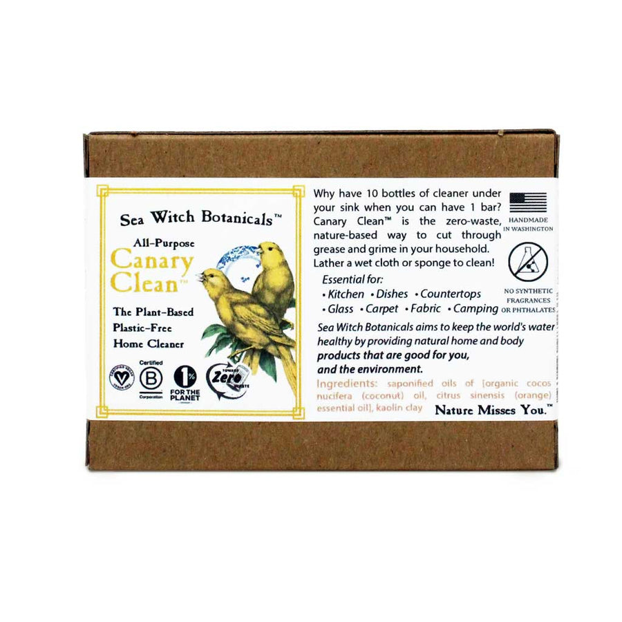 SeaWitch Botanicals Canary Clean - All-Purpose Home Cleaner
