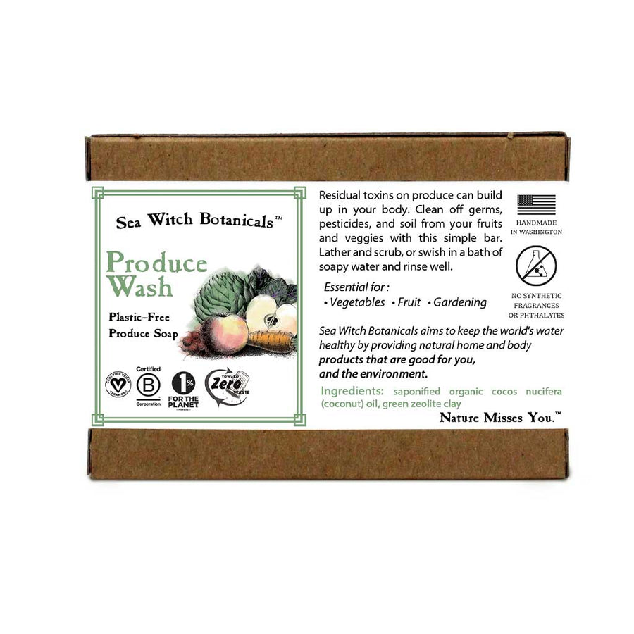 SeaWitch Botanicals Produce Wash
