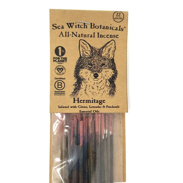 SeaWitch Botanicals Incense - Hermitage - 22 Sticks