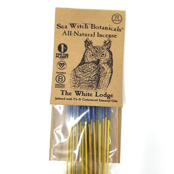 SeaWitch Botanicals Incense - The White Lodge - 22 Sticks