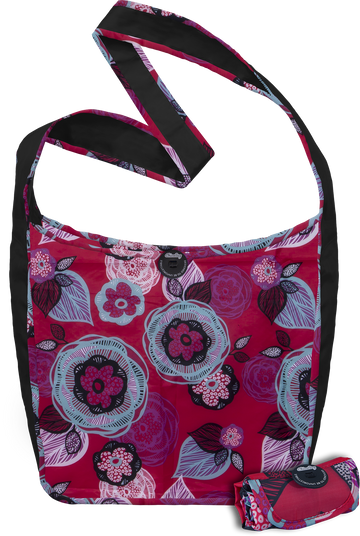 ChicoBag Sidekick Reusable Cross-body Tote - Boysenberry Bliss