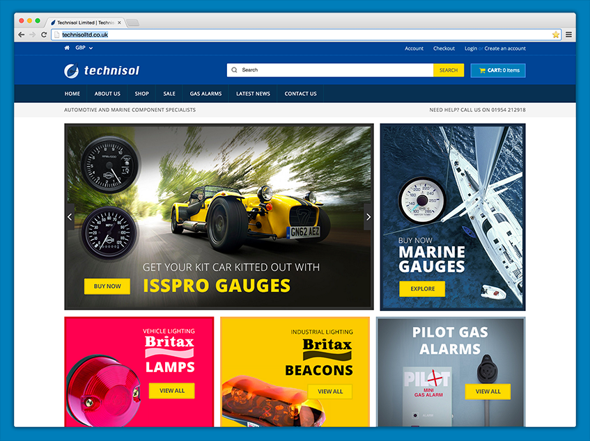 Technisol - specialists in automotive and marine parts and accessories