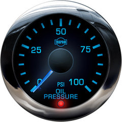 ISSPRO EV² Performance Oil Pressure Gauge 0 - 100 psi  R13211 & R16211