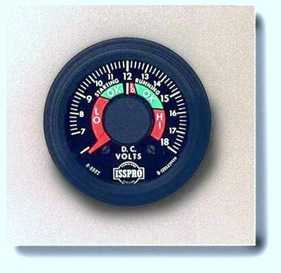 ISSPRO Heavy Duty Ammeters with External Shunt and Voltmeters