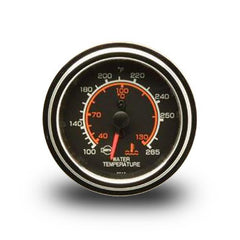 ISSPRO Standard Mechanical (Capillary) Dual Scale Water Temperature Gauge Chrome Bezel