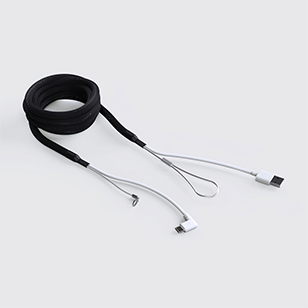 Reinforced Cable C2A Black